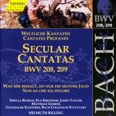 J.S. Bach - Secular Cantatas BWV 208, 209 by Bach-Collegium Stuttgart