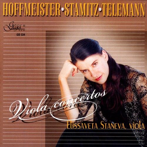 Hoffmeister / Stamitz / Telemann: Violin Concertos von Elissaveta Staneva