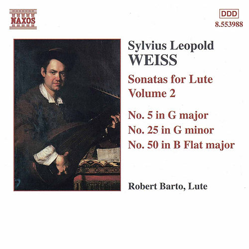 Sonatas for Lute Vol. 2 by Sylvius Leopold Weiss