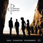 Ravel, Tchakovsky & Rachmaninoff: String Quartets by The Puertas Quartet