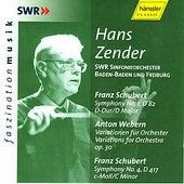 Anton Webern: Variations for Orchestra op. 30 & Franz Schubert: Symphonies No. 1 & 4 by Hans Zender