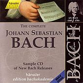 Bach: The Complete Johann Sebastian Bach / Sample CD of New Releases by Various Artists