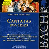 J.S. Bach - Cantatas BWV 122-125 by Bach-Collegium Stuttgart