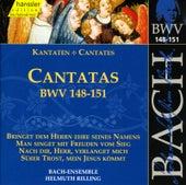 J.S. Bach - Cantatas BWV - 148-151 by Bach-Collegium Stuttgart