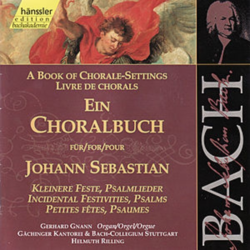 Bach: A Book of Chorale Settings by Gerhard Gnann