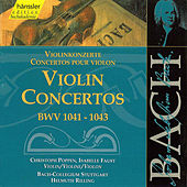 Bach: Violin Concertos, BWV 1041-1043 by Helmuth Rilling