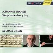 Johannes Brahms: Symphony Nos. 3 & 4 by Michael Gielen