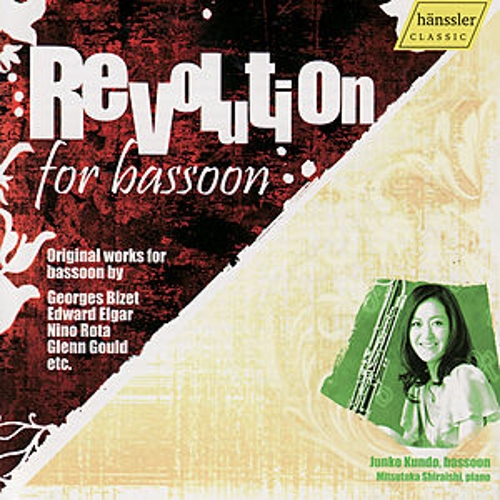 Revolution for Bassoon - Original Works by G. Bizet, E. Elgar, N. Rota, G. Gould etc. by Junko Kundo