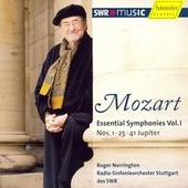 Wolfgang Amadeus Mozart: Essential Symphonies, Vol. 1 - No. 1, 25, 41 by Roger Norrington