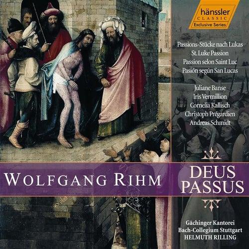 Rihm: Deus Passus - St. Luke Passion by Gachinger Kantorei Stuttgart