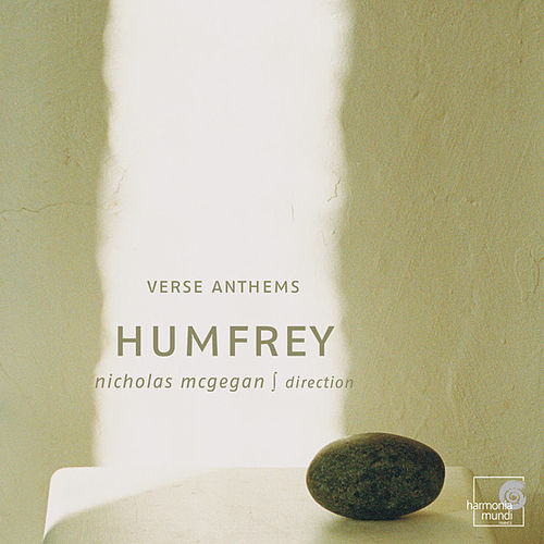 Pelham Humfrey: Verse Anthems by Nicholas McGegan
