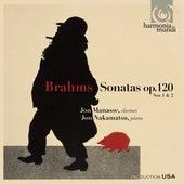 Brahms: Clarinet Sonatas Nos. 1 & 2, Op. 120 by Jon Manasse