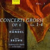 Concerti Grossi Op. 6 Nos. 1 - 4 by George Frideric Handel