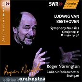 Ludwig van Beethoven: Symphony No. 1 & 2 by SWR Radio-Sinfonieorchester Stuttgart