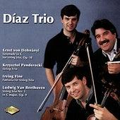 DOHNANYI / PENDERECKI / FINE / BEETHOVEN: String Trios by Diaz Trio