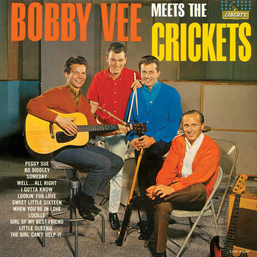 Bobby Vee Meets The Crickets by Bobby Vee