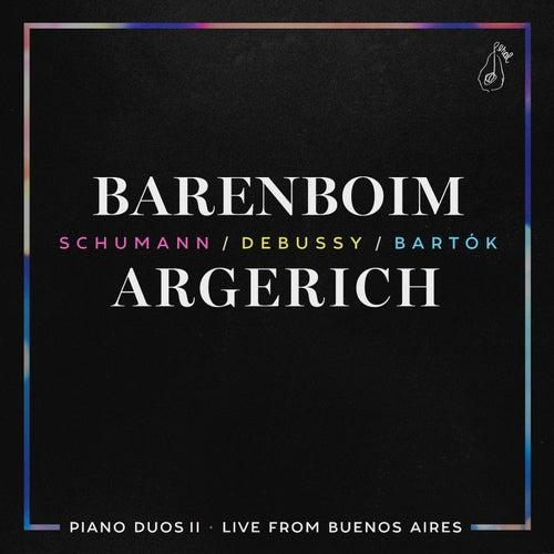 Piano Duos II - Schumann, Debussy, Bartók by Daniel Barenboim
