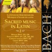 Johann Sebastian Bach: Sacred Music in Latin, Vol. II by Gächinger Kantorei