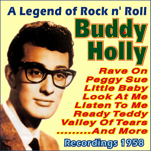 A Legend of Rock N' Roll by Buddy Holly