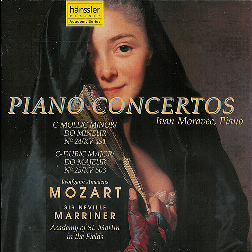 Mozart Piano Concertos Nos. 24 and 25 by Ivan Moravec