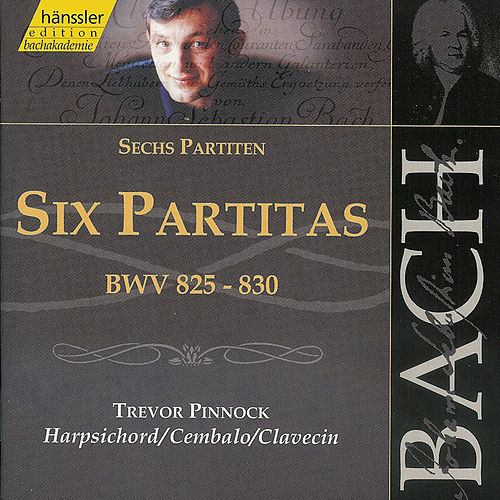 Bach: Six Partitas, BWV 825-830 (1 of 2) by Trevor Pinnock