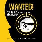 Wanted! 25 Deep Underground Beats, Vol. 1 (Including Two Live & Raw DJ Mixes) by Various Artists