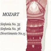 Mozart: Sinfonía No. 35, Sinfonía No. 36, Divertimento No. 15 by Orquesta Philharmonia
