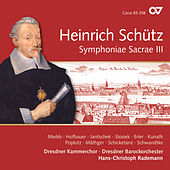 Schütz: Symphoniae sacrae III, Op. 12 by Various Artists