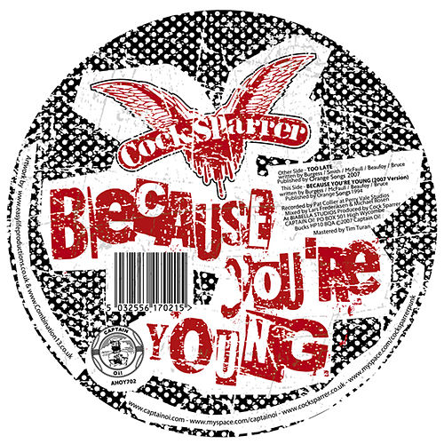 Because You're Young (2007 Version) by C*ck Sparrer