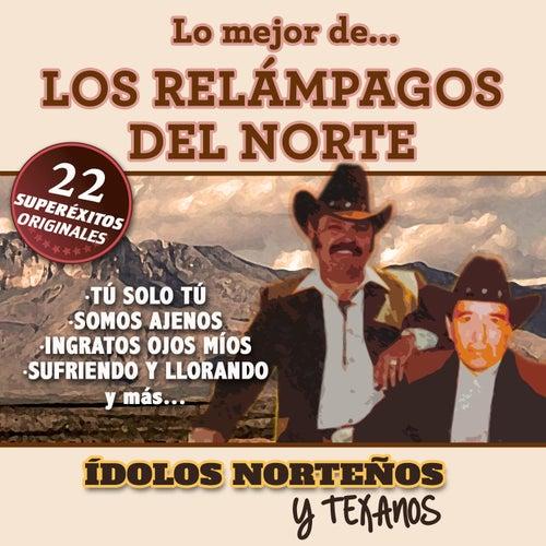 22 Superexitos (Idolos Norteños y Texanos) by Los Relampagos Del Norte