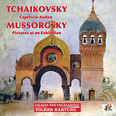 Tchaikovsky: Capriccio italien, Op. 45, TH 47 - Mussorgsky: Pictures at an Exhibition (Orch. M. Ravel) by Volker Hartung