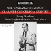 Mozart: Clarinet Concerto K. 622 & Clarinet Quintet, Op. 108, K. 581 by Benny Goodman