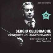 Brahms: Symphonies Nos. 1-4 & Alto Rhapsody, Op. 53 by Various Artists