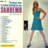 Todas las Canciones de Sanremo en Español, Vol. 2 by Various Artists