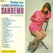 Todas las canciones de sanremo en español, Vol. 1 by Various Artists