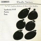 SANTORO: Symphony Nos. 4 and 9 / Ponteio / Frevo by John Neschling