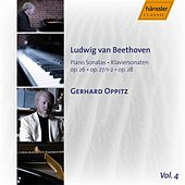 Beethoven: Piano Sonatas op. 26, op.27/1-2, op.28 Vol. 4 by Gerhard Oppitz