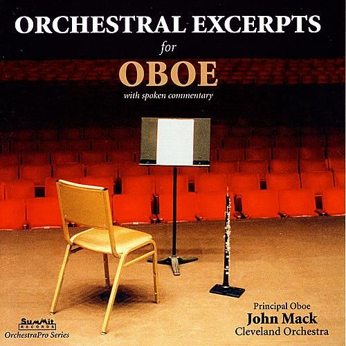 Orchestral Excerpts for Oboe by John Mack