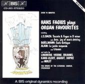 FAGIUS, Hans: Organ Favourites by Hans Fagius