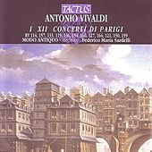 Vivaldi: Concerti Di Parigi I XII by Modo Antiquo