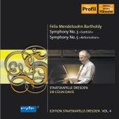Mendelssohn: Symphonies Nos. 3 & 5 by Staatskapelle Dresden