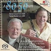 MOZART: Clarinet Concerto K. 622 / Clarinet Quintet, K. 581 by Andrew Marriner