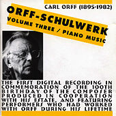 Orff-Schulwerk, Vol. 3: Piano Music by Nikolaus Lahusen