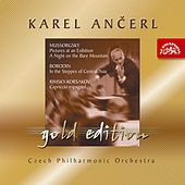 Ančerl Gold 4 Mussorgsky: Pictures at an Exhibition, A Night on the Bare Mountain/Borodin: In the Steppes of Central Asia/Rimsky by Czech Philharmonic Orchestra
