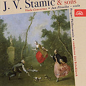 C. Stamitz, A. Stamitz, J.V.Stamic: Viola Concertos / Pěruška, Prague Philharmonia, Bělohlávek by Jan Pěruška