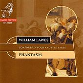Lawes: Consorts in 4 and 5 Parts by Phantasm