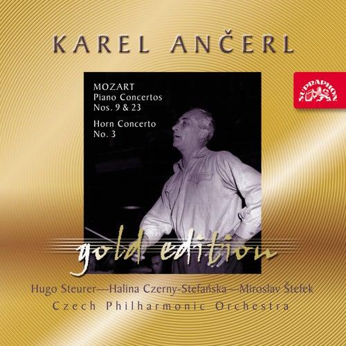 Ančerl Gold 38 Mozart: Piano Concertos Nos. 9 & 23, Horn Concerto No. 3 by Karel Ančerl