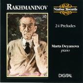 Rachmaninoff: 24 Preludes by Marta Deyanova