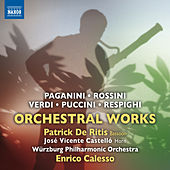 Paganini, Rossini, Verdi, Puccini & Respighi: Orchestral Works by Various Artists