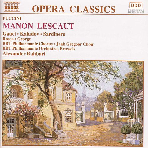 Manon Lescaut by Giacomo Puccini